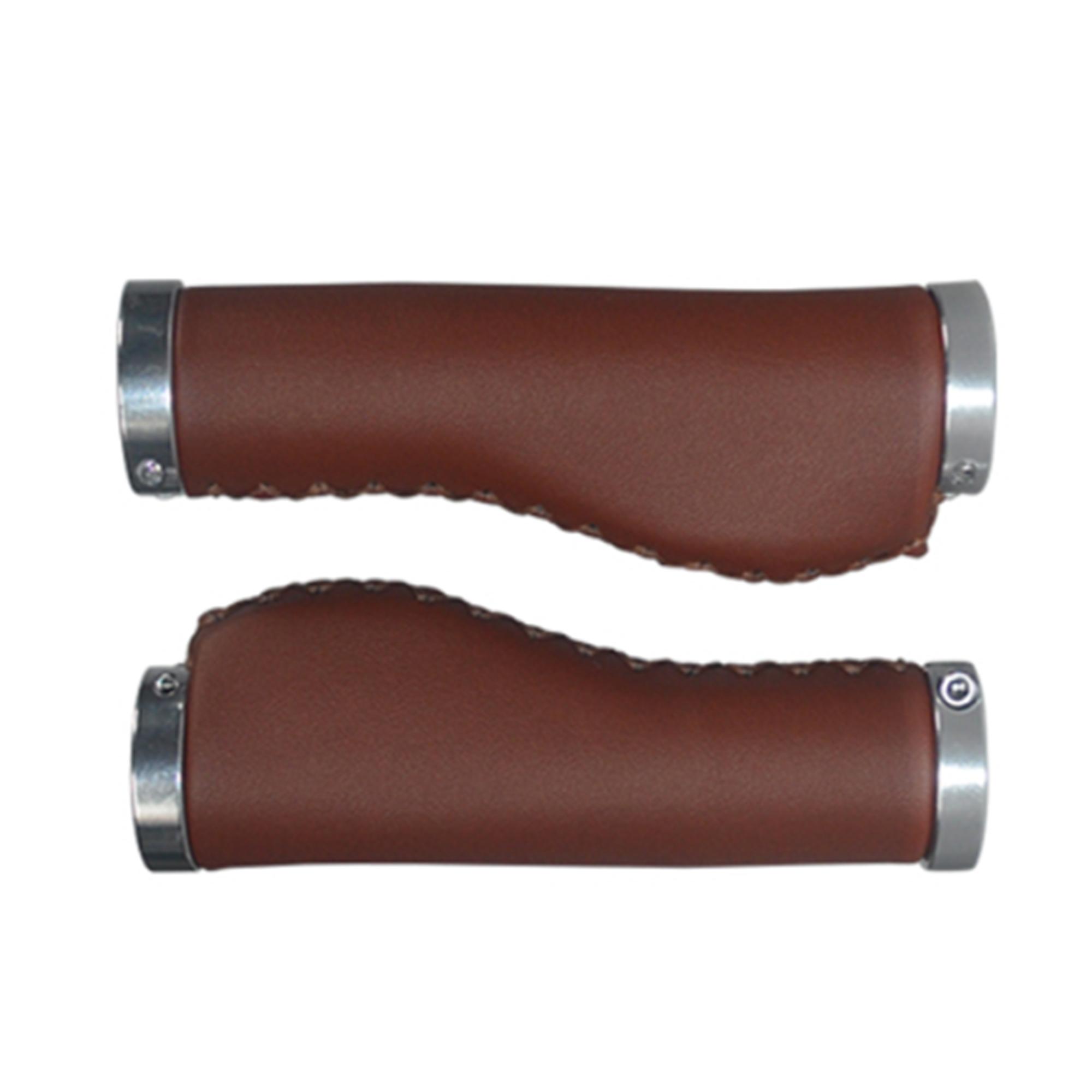 Bike Handlebar Cover Handle Grips Cycling PU Leather Durable Practical