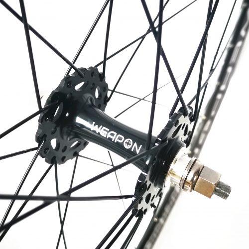 WEAPON Soldier track wheelset single speed wheelset alloy wheelset