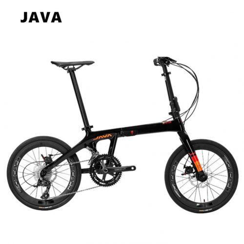 java carbon fiber foldable bike